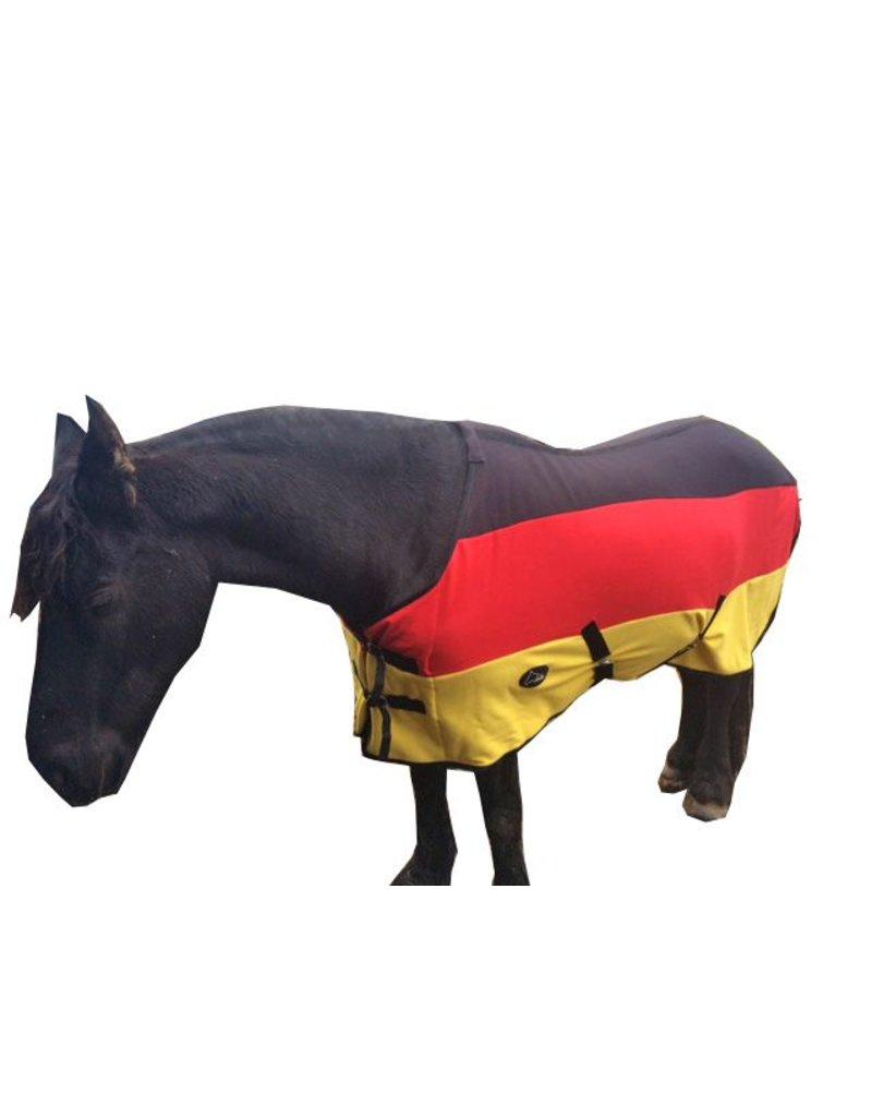LuBa Pferdedecken®  Polar Fleece decke - Deutsche Flagge