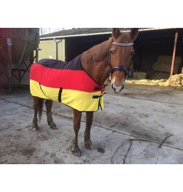LuBa Pferdedecken®  Polar Fleece decke - Deutsche Flagge