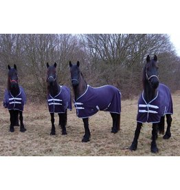 LuBa Pferdedecken®  Schweißdecken Fleece de Luxe - Friesisch