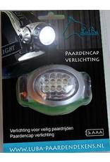 LuBa Pferdedecken®  Reitkappe-Beleuchtung