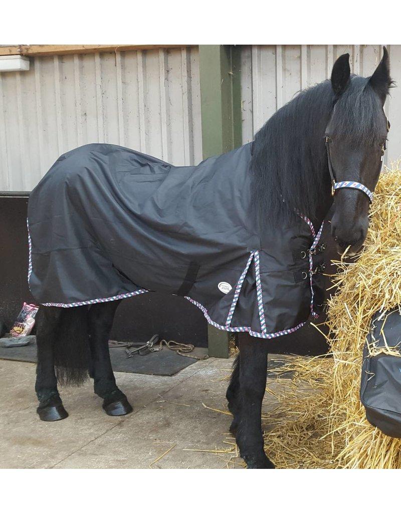 LuBa Pferdedecken, Extreme® Regendecke Turnout 1680D - Friesisch