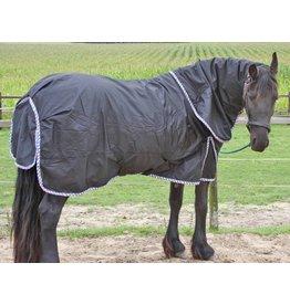 LuBa Pferdedecken, Extreme® Regendecke Turnout 1680D mit Halsteil - Friesisch