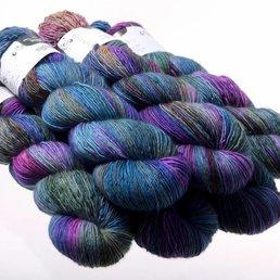 Hedgehog Fibres Sock Yarn col. Dragonfly