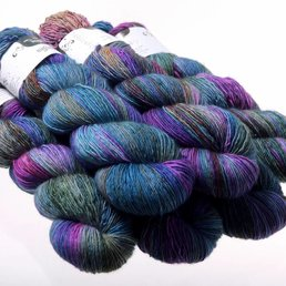 Hedgehog Fibres Sock Yarn Fb. Dragonfly
