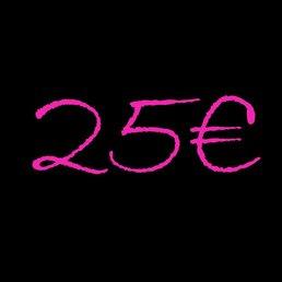 Voucher 25€