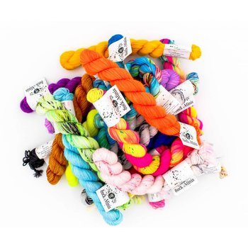 Hedgehog Fibres Sock Yarn Mini Skeins