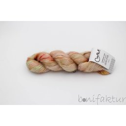 Kid Mohair Lace col. Cream Cherry Brittle