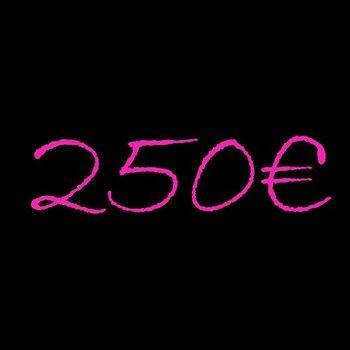 Gutschein 250€