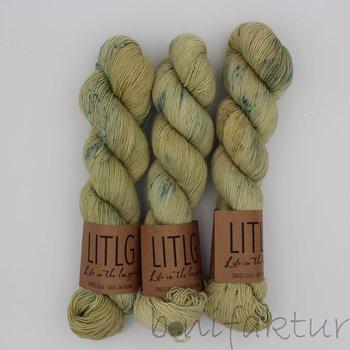 Life in the Long Grass LITLG Singles Sock Fb. Flax