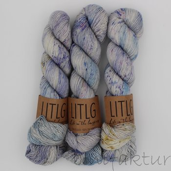 Life in the Long Grass LITLG Singles Sock col. Glimmer