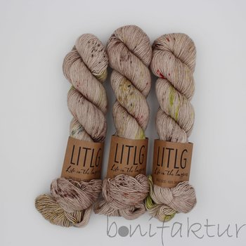 Life in the Long Grass LITLG Singles Sock col. Wheat