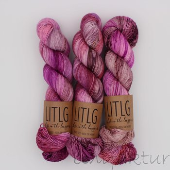 Life in the Long Grass LITLG Singles Sock col. Wild Rosebay