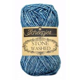 Scheepjes Stone Washed col. 805 Blue Apatite