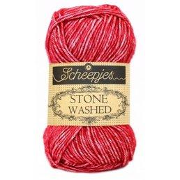 Scheepjes Stone Washed col. 807 Red Jasper