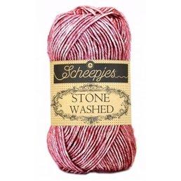 Scheepjes Stone Washed Fb. 808 Corundum Ruby