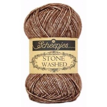 Scheepjes Stone Washed col. 822 Brown Agate