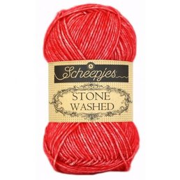 Scheepjes Stone Washed col. 823 Carnelian