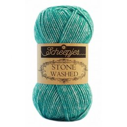 Scheepjes Stone Washed col. 824 Turquoise