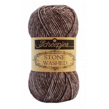 Scheepjes Stone Washed col. 829 Obsidian