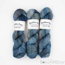Positive Ease Merino Singles col. Native Bluebells