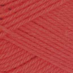 Pure Wool Worsted col. 135 Papaya
