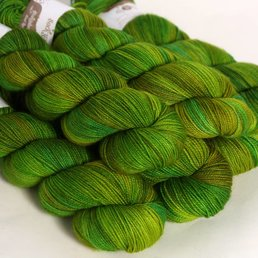 Hedgehog Fibres Sock Yarn col. Shamrock