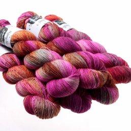 Hedgehog Fibres Sock Yarn col. Pheasant