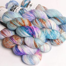 Hedgehog Fibres Sock Yarn Fb. Monet