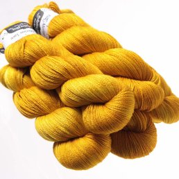 Hedgehog Fibres Sock Yarn col. Pollen