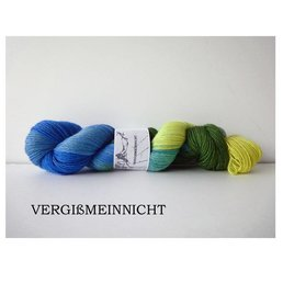 Fine Merino Socks Fb. Vergissmeinnicht