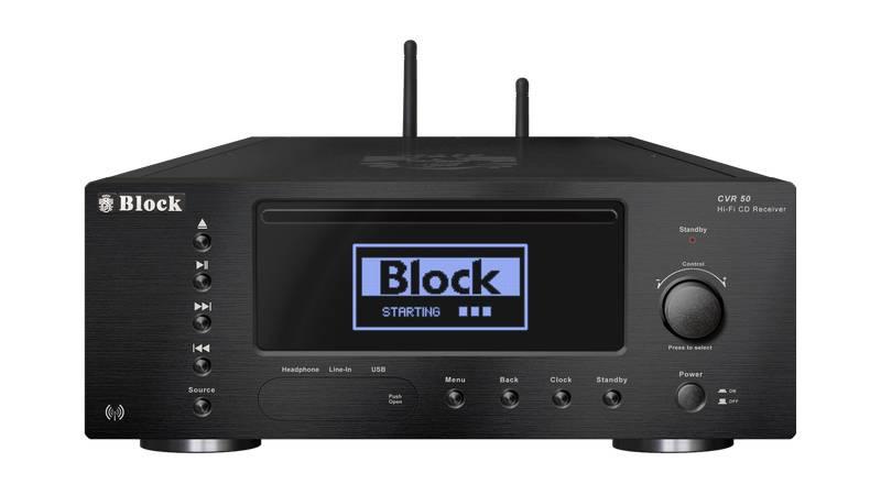 Block Audio CVR-50 CD-Internet-Receiver