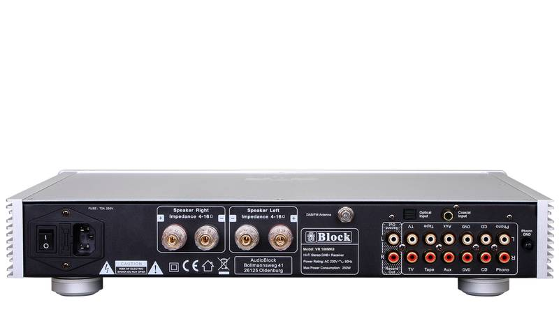 Block Audio VR-100+ MKII Receiver mit DAB+