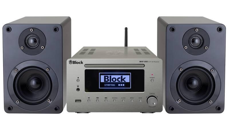 Block Audio MHF-800 Mikroanlage