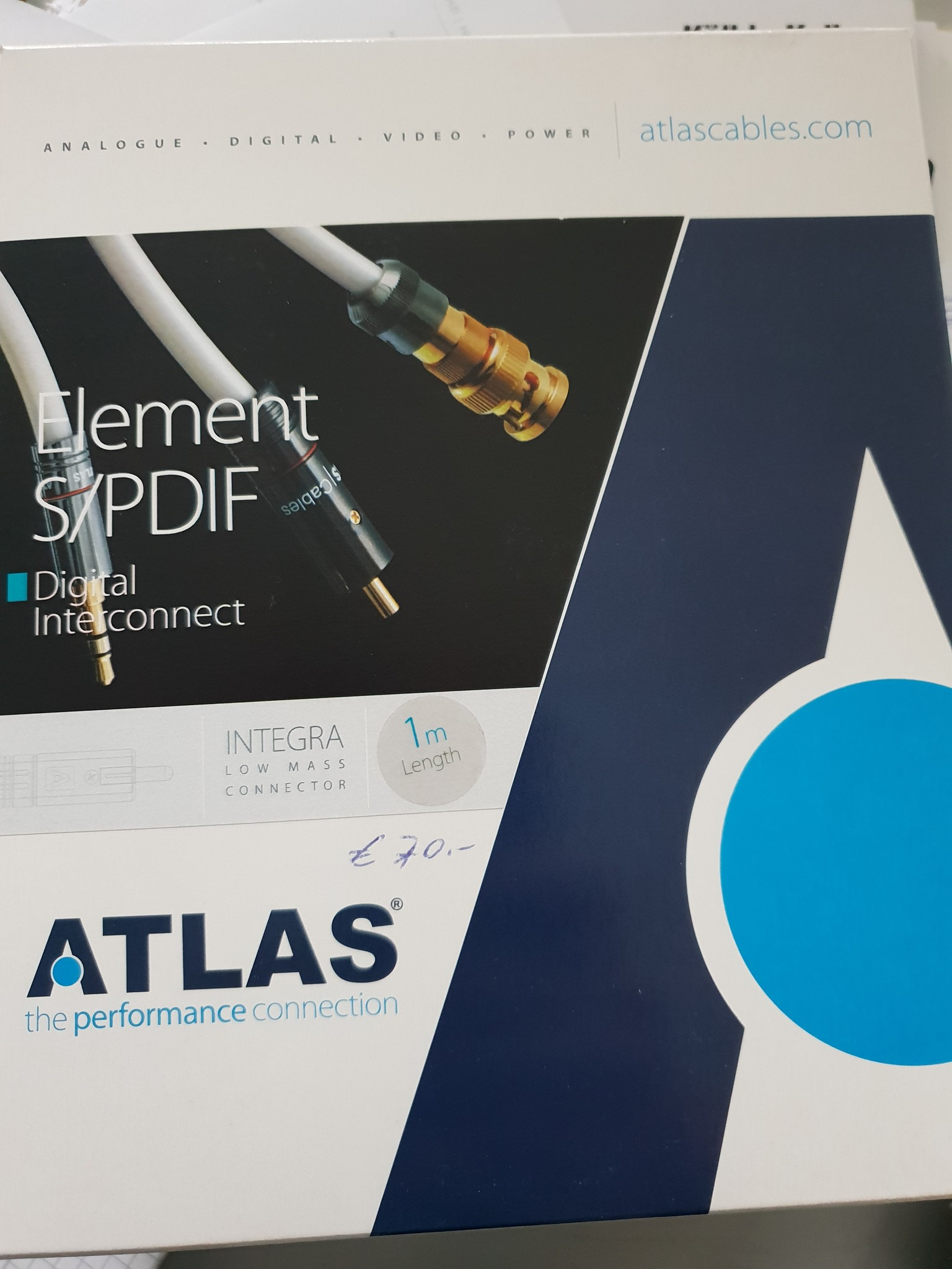 Atlas Atlas Element S/PDIF 1 m