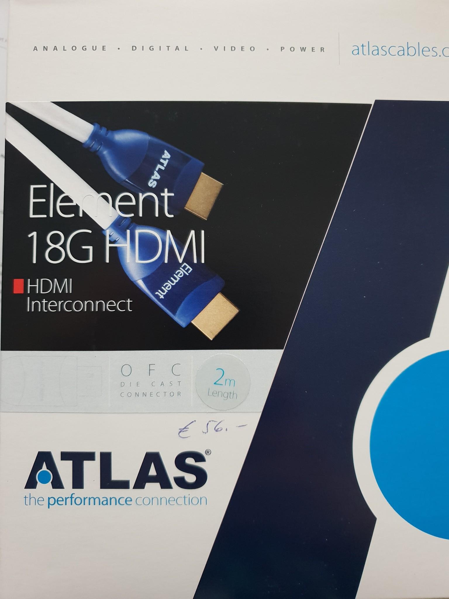 Atlas Atlas Element 18G HDMI 2m