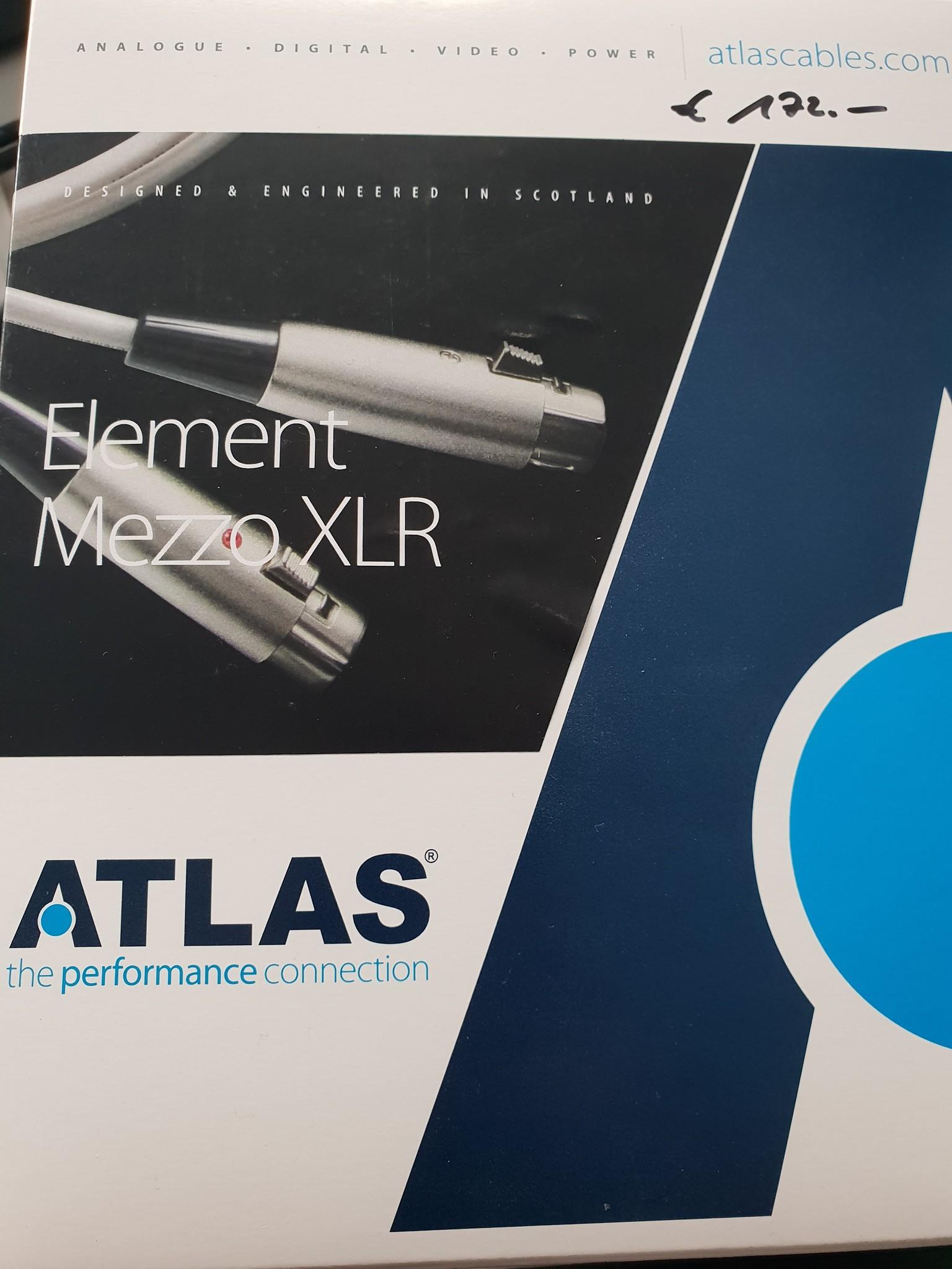 Atlas Element Mezzo XLR 1m