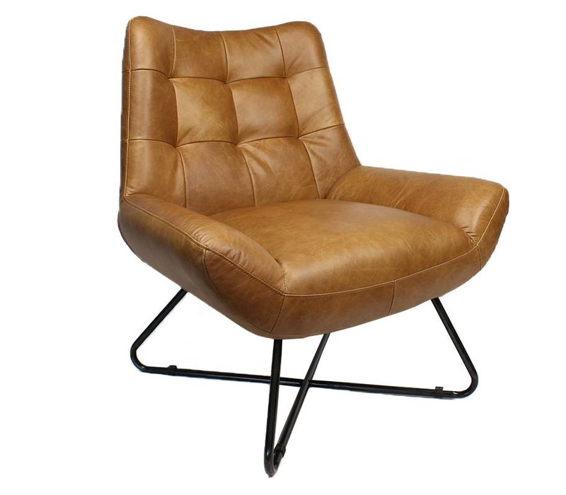 Durban fauteuil cognac