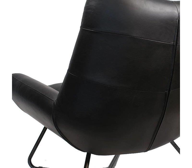 Durban fauteuil zwart
