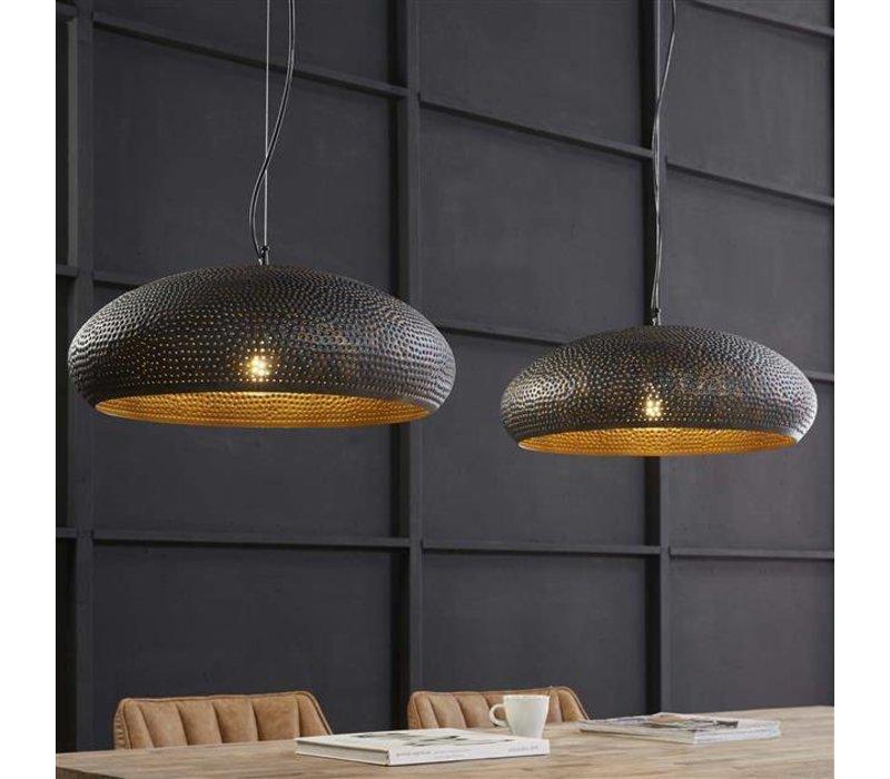 Hanglamp Attica Ovaal Zwart/Bruin
