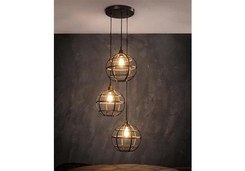 Hanglamp Globe 3-lichts
