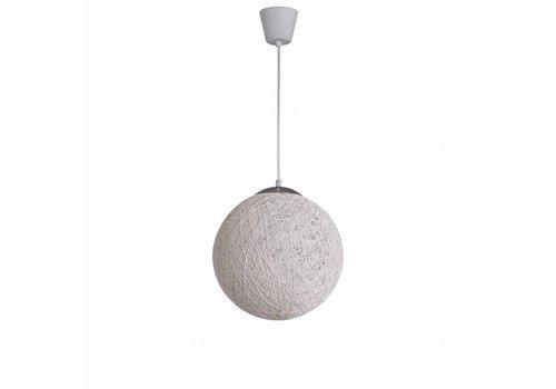 Moderne hanglamp Bowes wit 30 cm