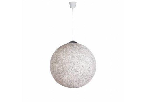 Moderne hanglamp Bowes wit 40 cm