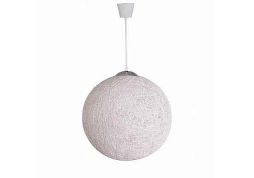 Moderne hanglamp Bowes wit 50 cm