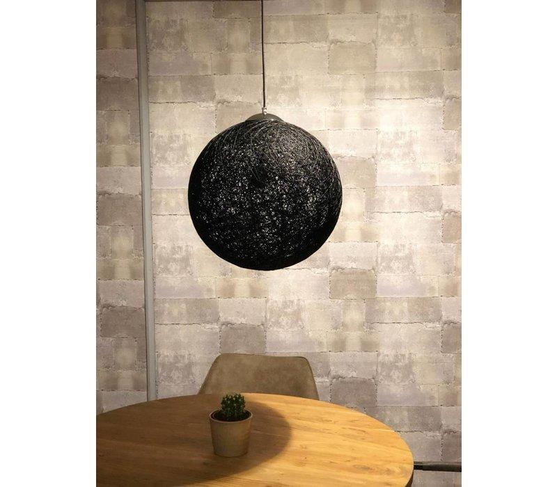 Moderne hanglamp Bowes zwart 30 cm