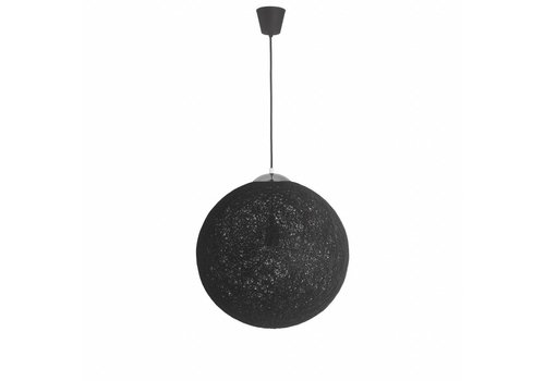 Moderne hanglamp Bowes zwart 50 cm