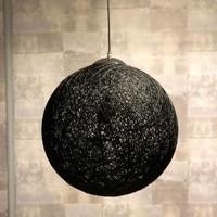 Moderne hanglamp Bowes zwart 60 cm