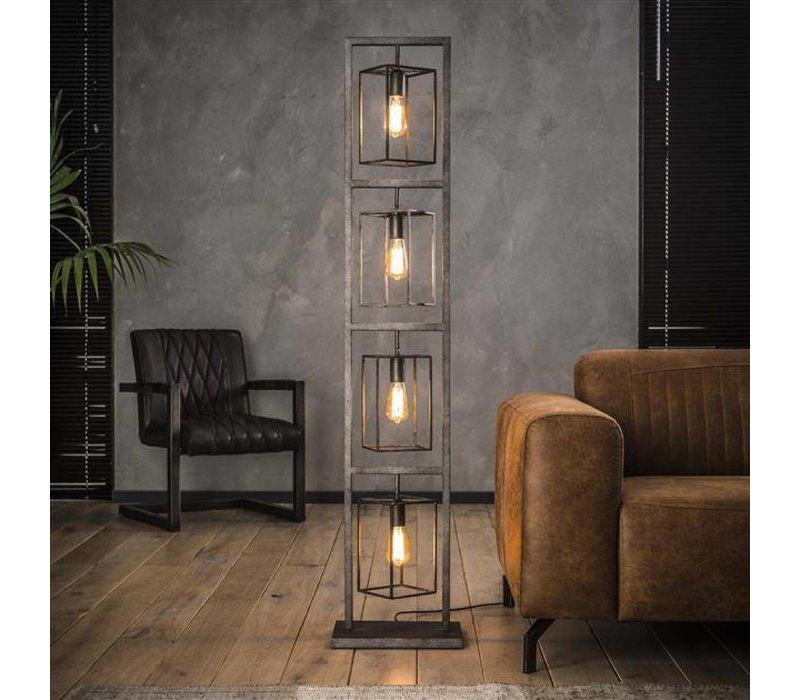 industriële vloerlamp hardin tower - dimehouse city shop