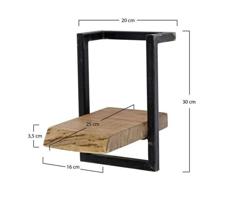 Wandplank Aberdeen 20 cm