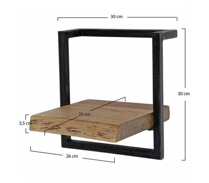 Wandplank Aberdeen 30 cm