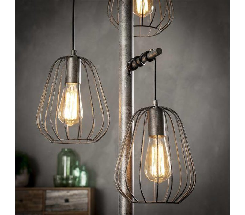 Vloerlamp Mauro 3-lichts